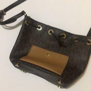 Michael kors across body strap purse